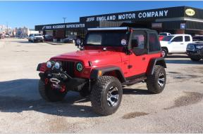 Used 1999 Jeep Wrangler TJ Sport Lifted 4x4 Soft Top Photo