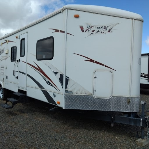 Used 2009 Keystone Rv Vr1 329srv Toy Hauler Travel Trailer