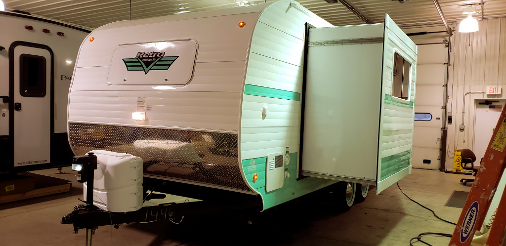 New 2020 Riverside RV Retro 199FKS Photo