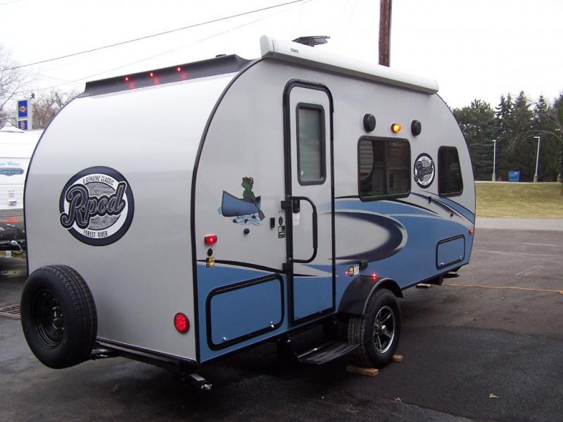 New 2018 Forest River Rv R Pod Rp 180 Travel Trailer At