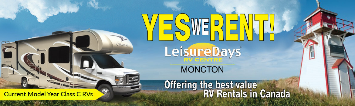 Yes we rent! Offering the best value RV Rentals in Canada.