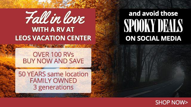 Fall in Love at Leo's RV