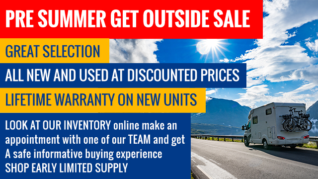 Pre Summer Get Outside Sale