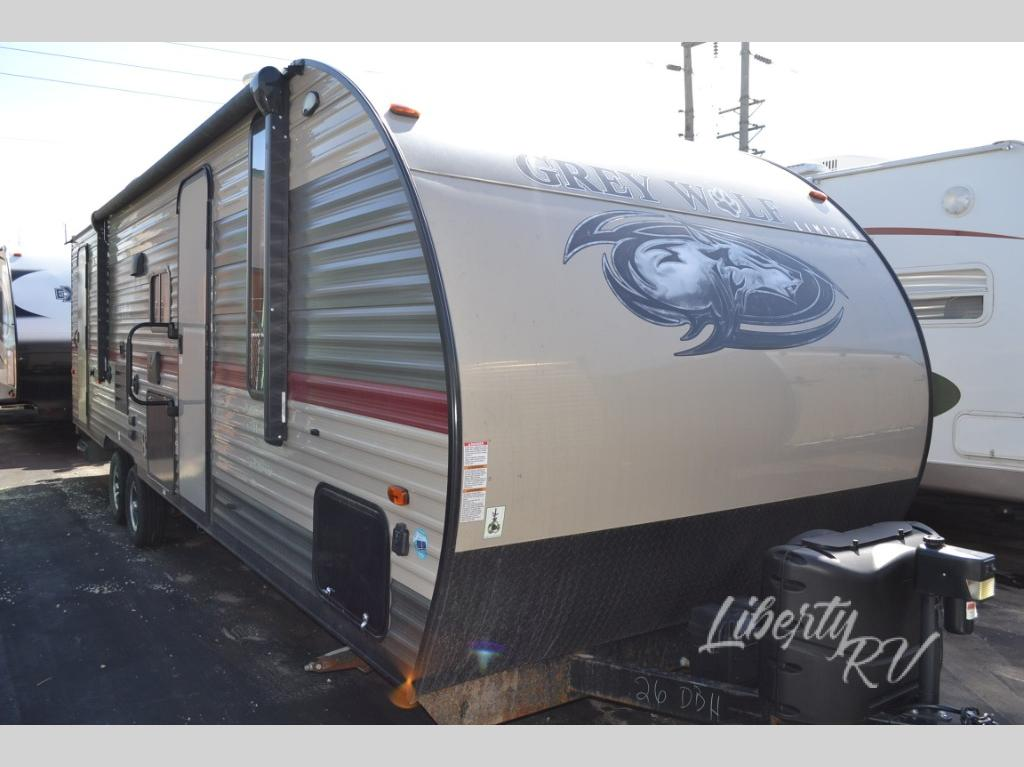 Used 2019 Forest River Rv Cherokee Grey Wolf 26dbh Travel