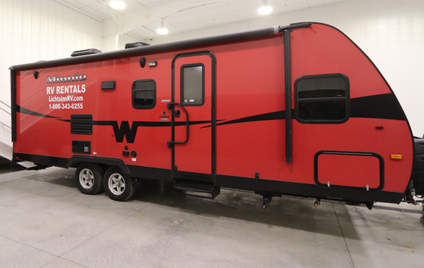 2015 Winnebago Camper Rental