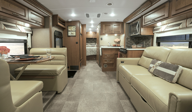 Winnebago Aspect Interior