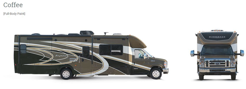 Winnebago Aspect Coffee Exterior