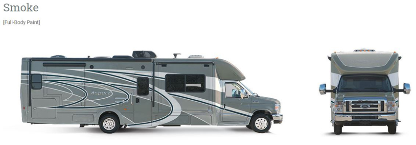 Winnebago Aspect Smoke Exterior