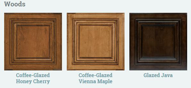 Itasca Ellipse Wood Cabinet Options
