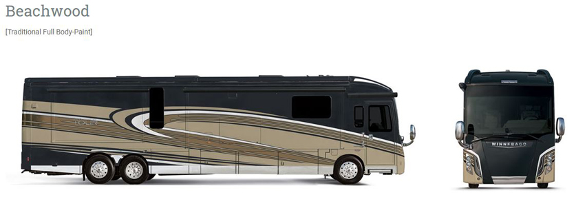 Winnebago Grand Tour Beachwood Exterior