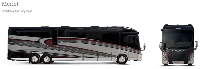 Winnebago Grand Tour Merlot Exterior