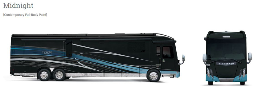 Winnebago Grand Tour Midnight Exterior