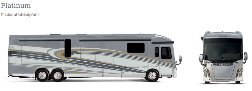 Winnebago Grand Tour Platinum Exterior