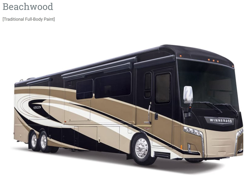 Winnebago Horizon Beachwood Exterior
