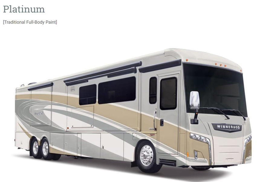 Winnebago Horizon Platinum Exterior