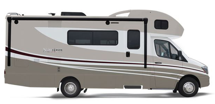 Winnebago Itasca Navion Floorplans And Specifications