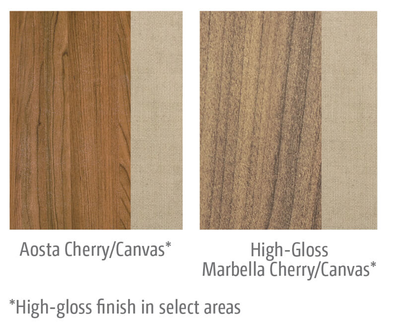 Itasca Navion Wood Cabinet Options