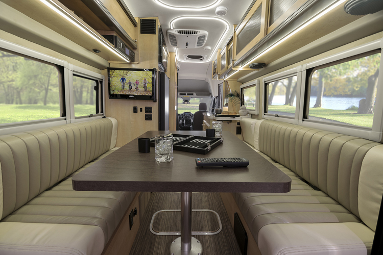 The Winnebago Paseo Was Consciously Designed For A Leisurely Lifestyle While Making Most Of Available Space Rear Third Coach Is