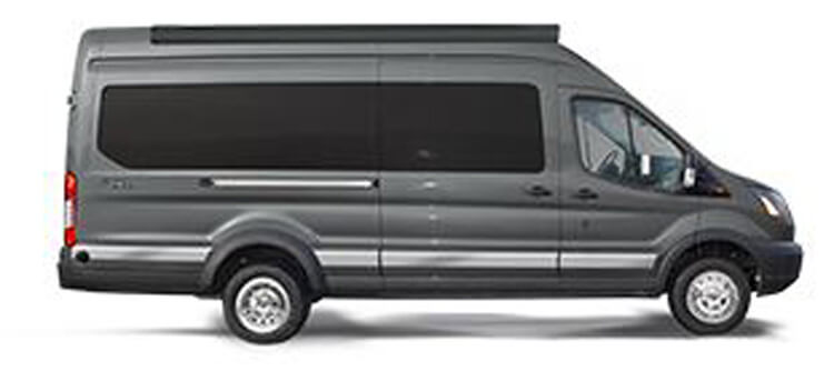 Winnebago Paseo Ford EcoBoost Gas Transit Chassis
