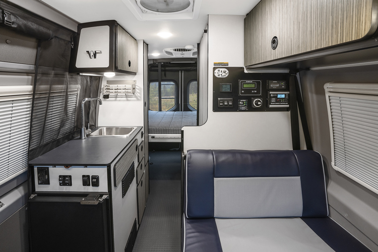 Winnebago Revel Gravity Interior