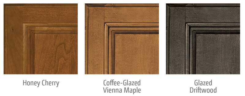 Itasca Sunstar and Sunstar LX Cabinet Wood Options