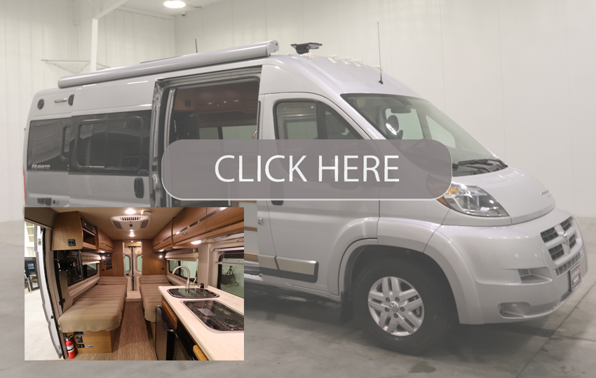 Winnebago Travato 59K Class B Motor Homes