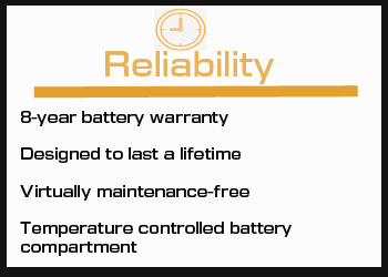Reliability Feature of the Pure3 Energy Management System in the Travato