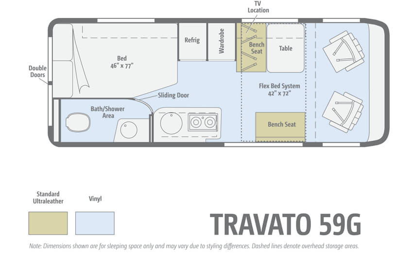 Winnebago Trend 59G Floorplan