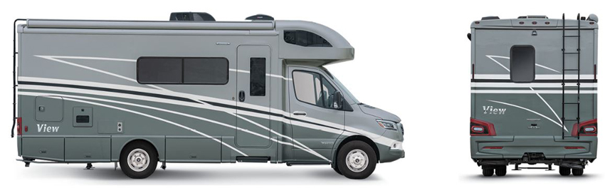 Winnebago View Bay Mist Exterior
