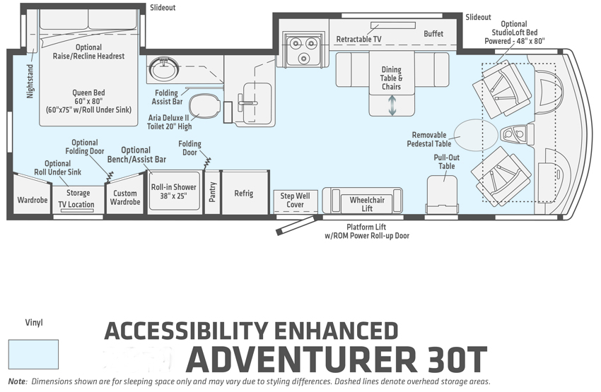 Winnebago Accessibility Enhanced Adventurer 30T