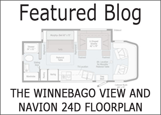 The Winnebago View and Navion 24D Floorplan