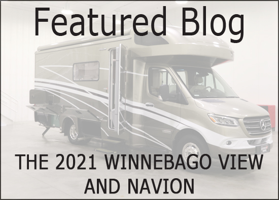 The 2021 Winnebago View and Navion