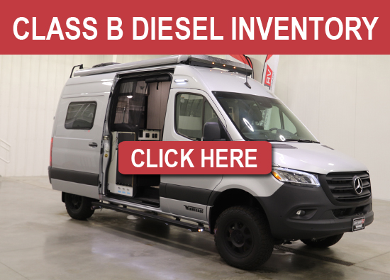 Winnebago Class B Diesel Inventory For Sale