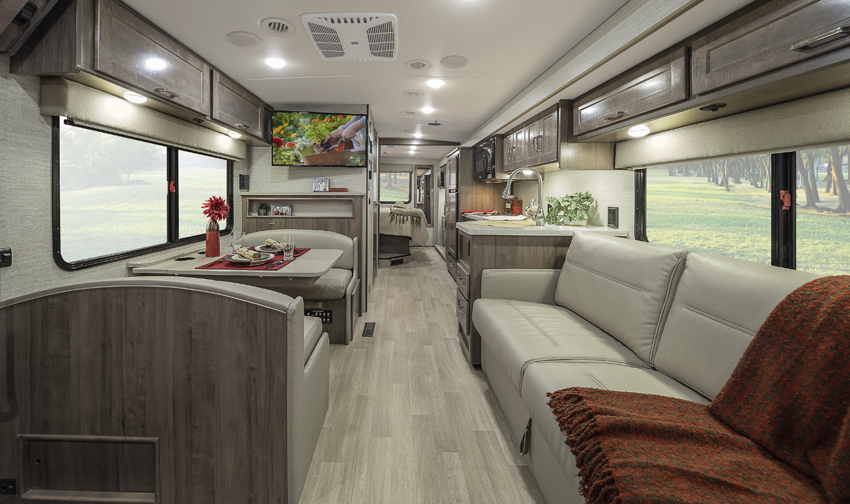 Winnebago Adventurer Floorplans