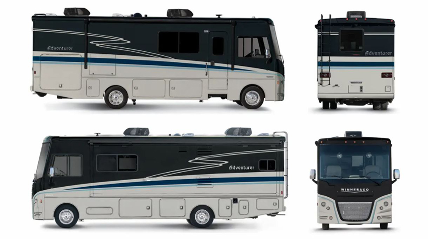 Winnebago Adventurer Nightshade Exterior Option