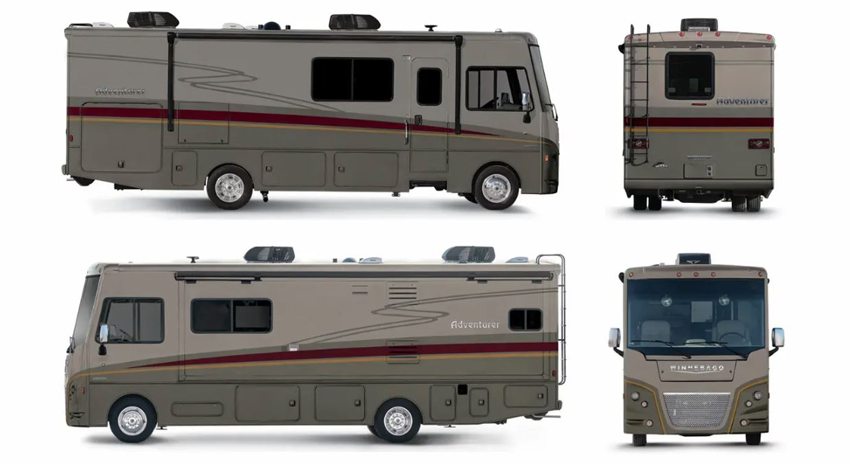 Winnebago Adventurer Sable Exterior