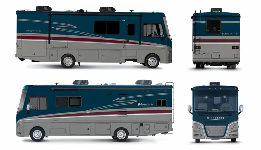 Winnebago Adventurer Wedgewood Exterior Option