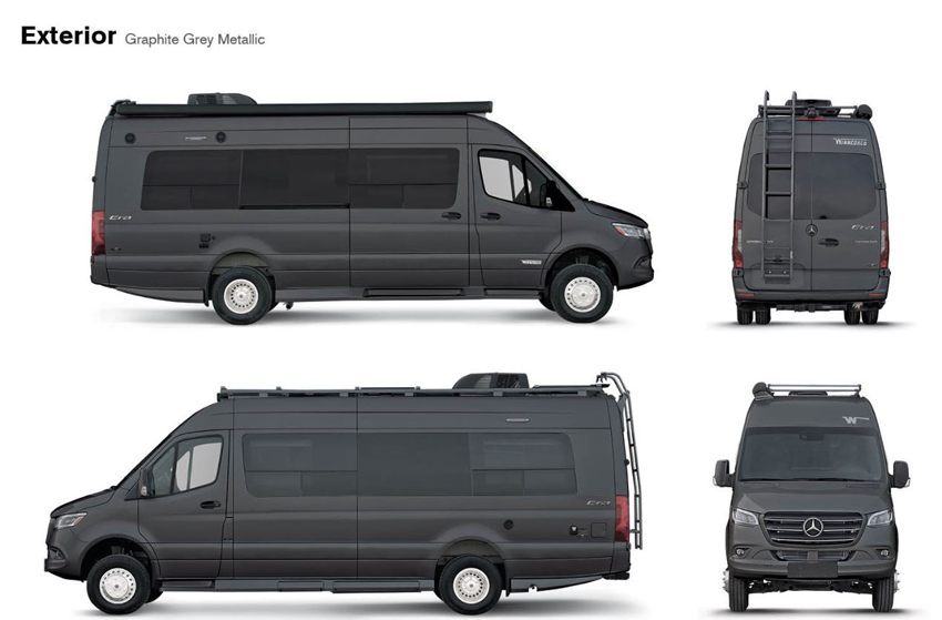 Winnebago Era Graphite Exterior