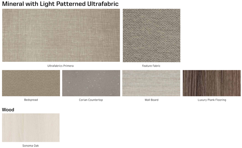 Winnebago Forza Mineral with Light Patterned Ultrafabric Interior