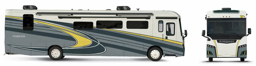 Winnebago Forza Sunflower Exterior