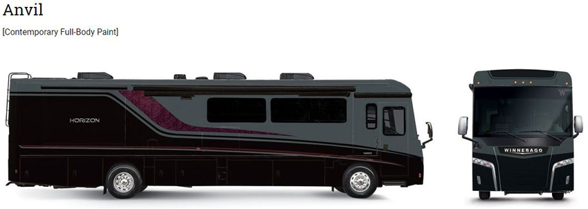 Winnebago Anvil Exterior Option