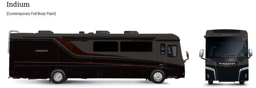 Winnebago Indium Exterior Option