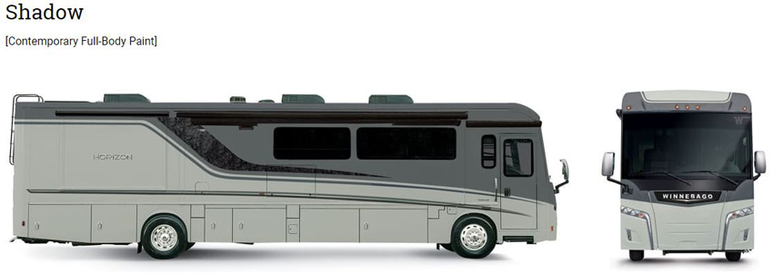Winnebago Horizon Shadow Exterior