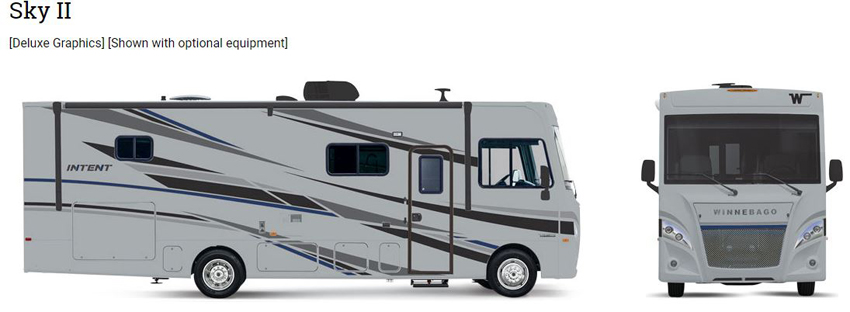 Winnebago Intent Sky II Exterior Option