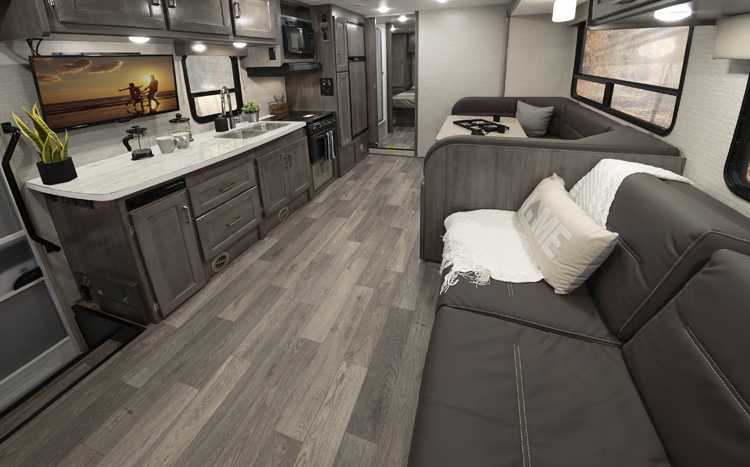 Winnebago Minnie Winnie Floorplans and Specifications | Details of