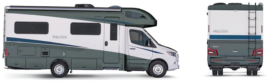 Winnebago Navion Stellar Exterior Option