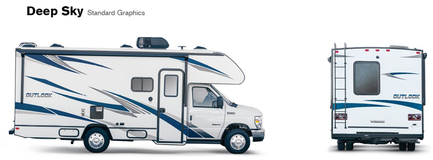 Winnebago Outlook Deep Sky Exterior Option
