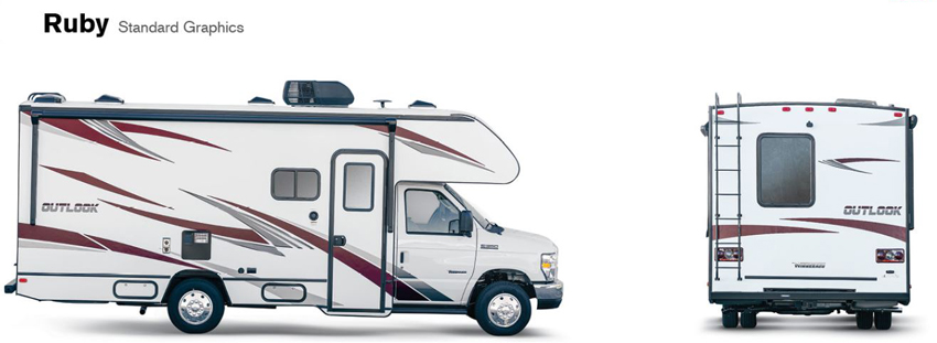 Winnebago Outlook Ruby Exterior