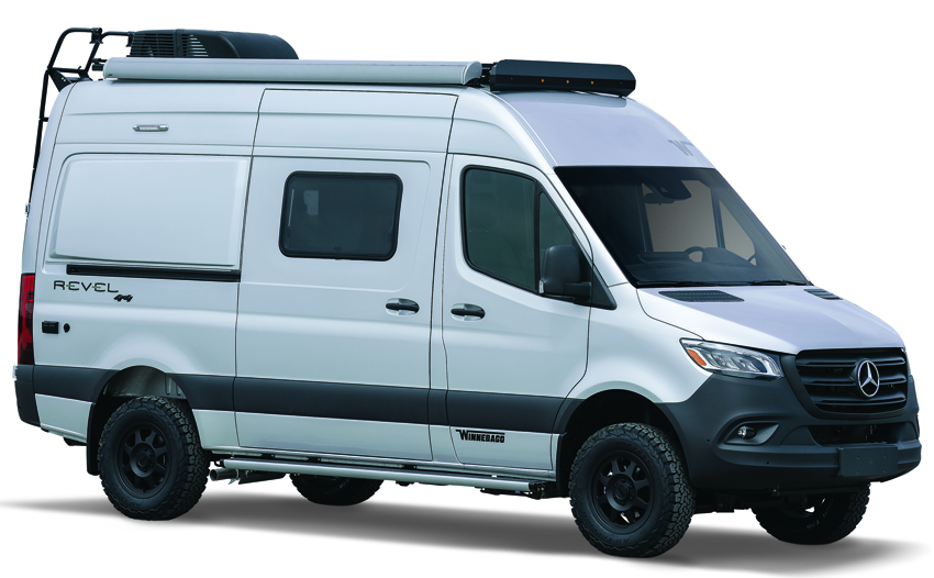 Winnebago Revel Iridium Silver