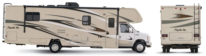 Winnebago Spirit Chestnut Exterior